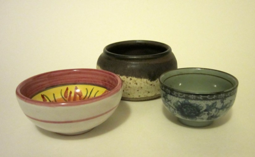 Small little bowls from years past