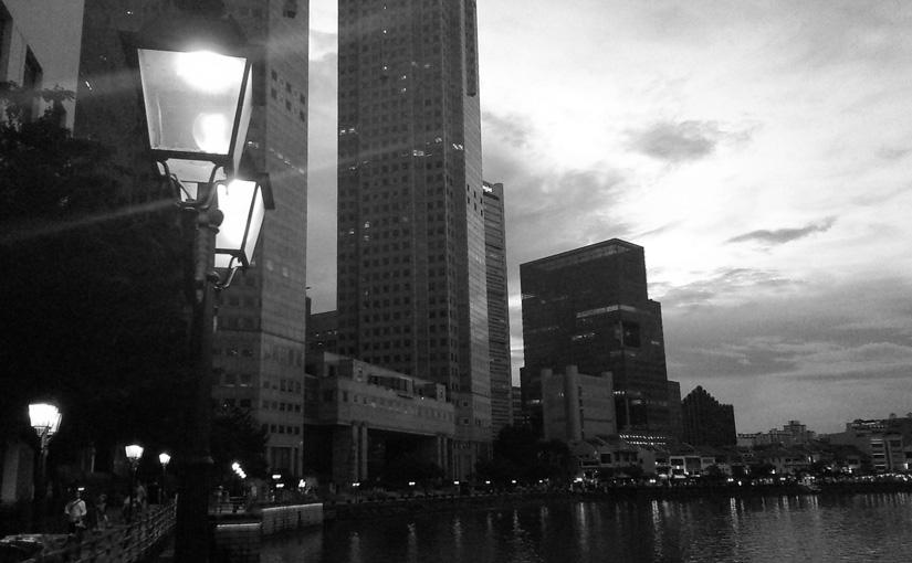 Stroll at Boat Quay