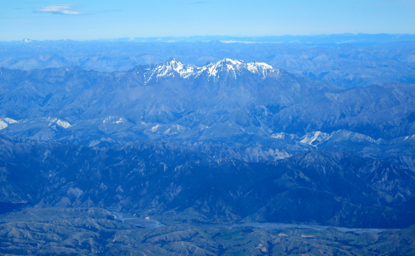 The planes to Christchurch