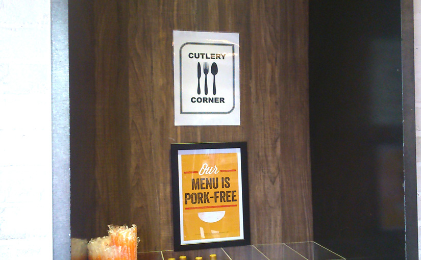 Soup Spoon Novena: Cutleries Station is now Cutlery Corner