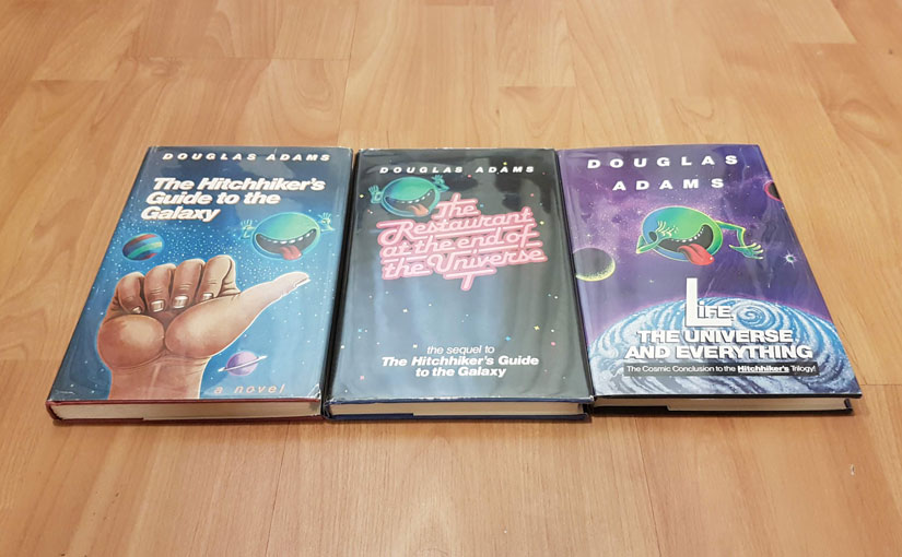 The Hitchhiker's Guide to the Galaxy Trilogy by Douglas Adams