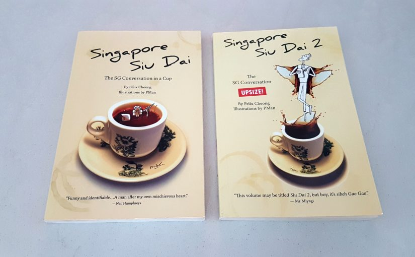 Singapore Siu Dai 1 and 2 by Felix Cheong, illustrated by PMan