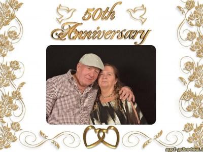 Les & Sally 50th Avviversary