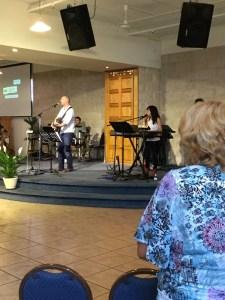 Jeremiah & Jennifer Morrison leading worship