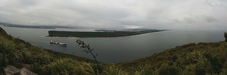 Výhled z Mount Maunganui