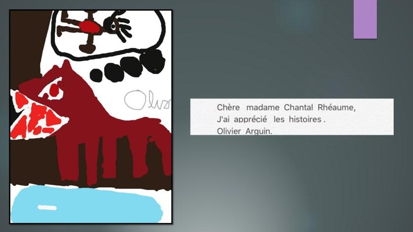 création A pour madame Chantal Rhéaume_