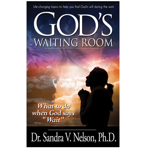 Dr Sandra V Nelson Gods waiting room book cover