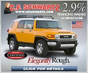 CF Schwartz Motor Company Delaware Display Ad