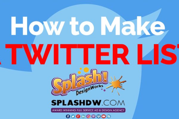 How to make a Twitter list.
