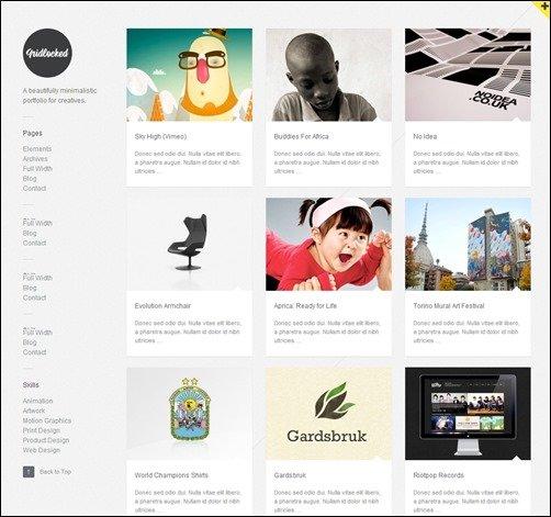 Tumblr Portfolio Template  nà va responsive tumblr portfolio theme