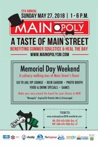 5th Annual MAINopoly: A Taste of Main Street