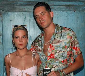 Halsey And G Eazy Showcase Couplegoals At Playboy Social Club During Weekend One Of Coachella