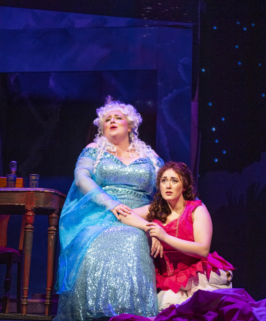 Marie (Angela Cesena) consoles Ella (Christina Lea)  Photo Credit: David Allen