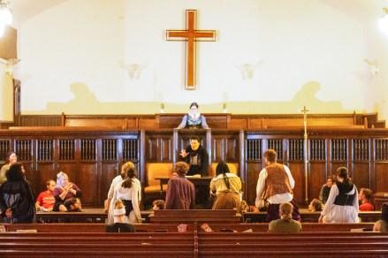 A trial scene