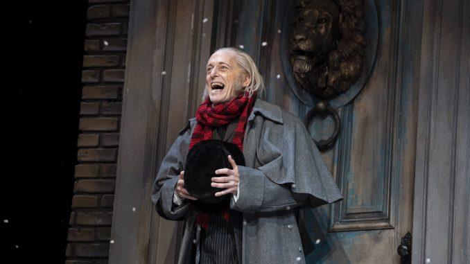 Scrooge happy