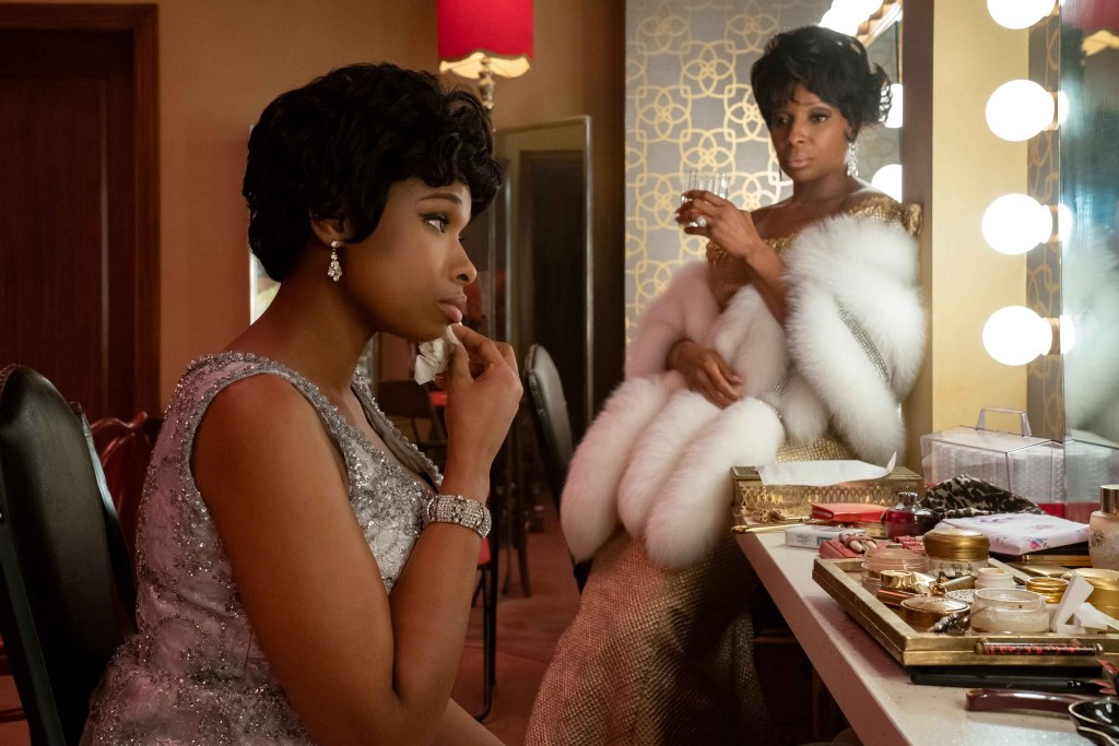 Jennifer Hudson stars as Aretha Franklin and Mary J. Blige as Dinah Washington in RESPECT, A Metro Goldwyn Mayer Pictures film.