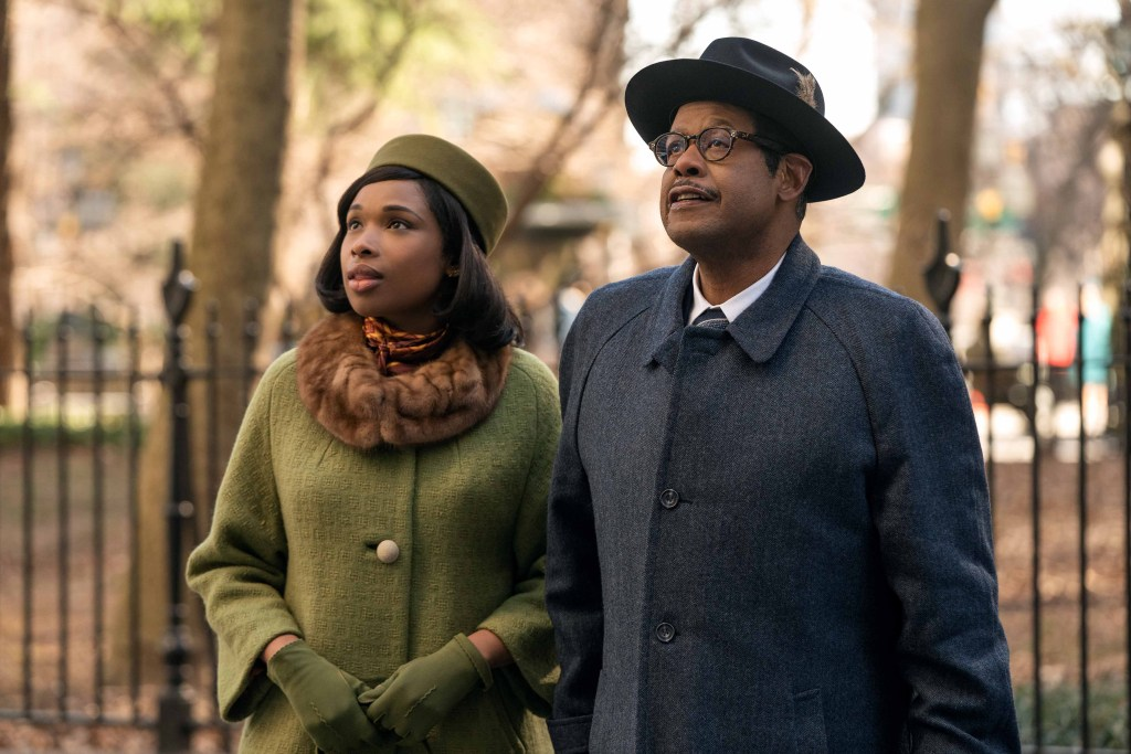 Jennifer Hudson stars as Aretha Franklin and Forest Whitaker as her father C.L. Franklin in RESPECT,  A Metro Goldwyn Mayer Pictures film.
