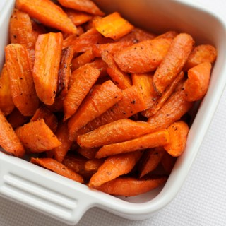 Roasted carrots: Simple? Yes. Delicious? Definitely.