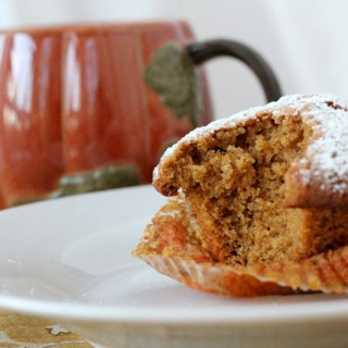 It's the Great Pumpkin Muffin, Charlie Brown!