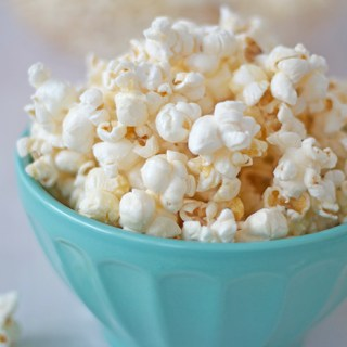 The easiest snack you'll ever make: Salted honey butter popcorn