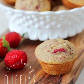 Are we pastry, or are we baked good? Strawberry banana muffins