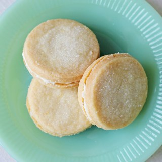 Taste of sunshine: Lemon sandwich cookies