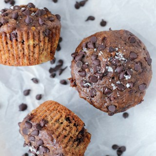 The world according to Beany: Chocolate banana muffins