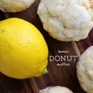 Sundays and sunshine: Lemon donut muffins