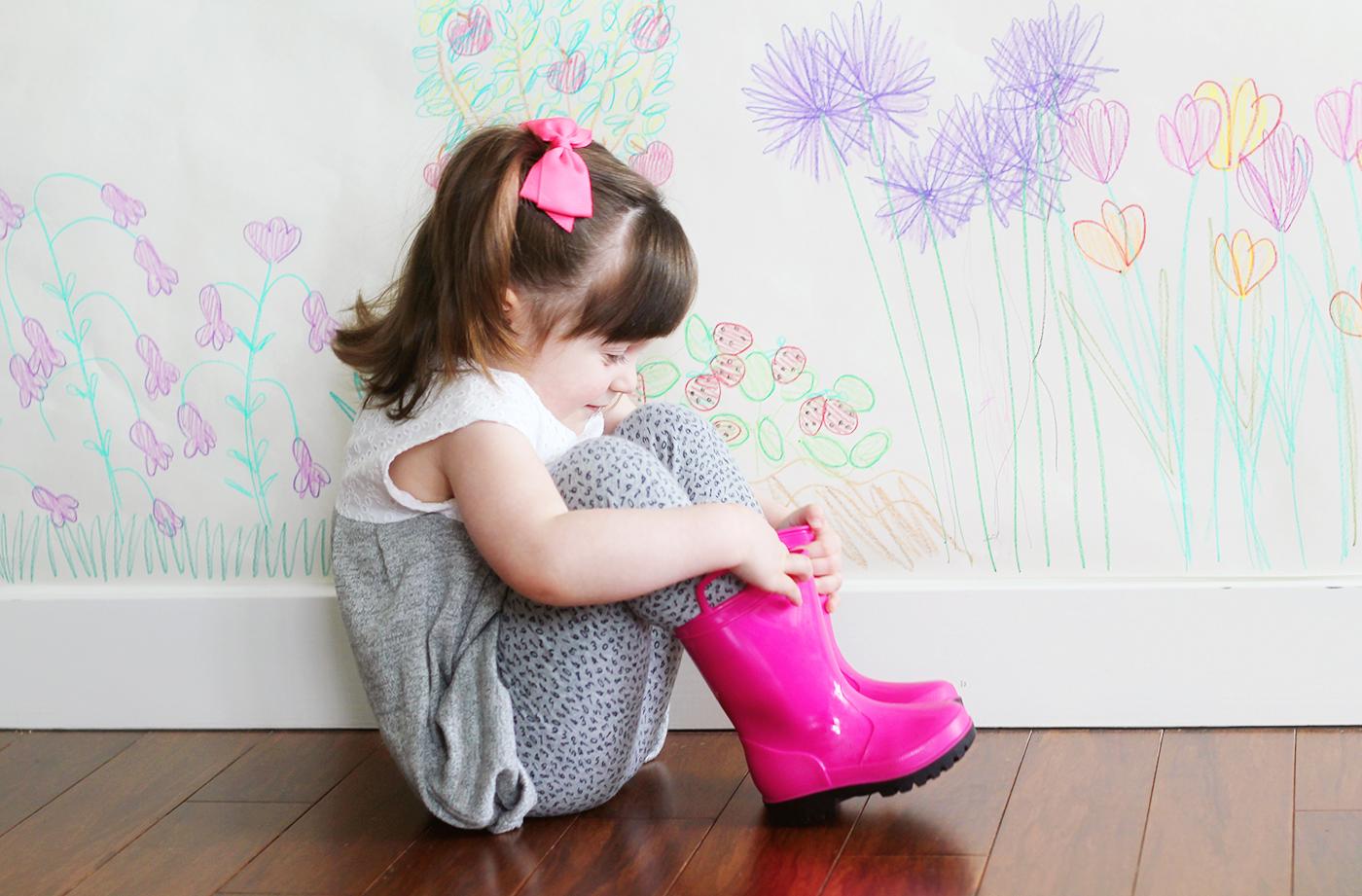 Colorful Indoor Garden Craft for Kids side