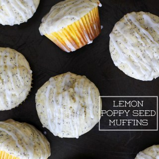 Fit for a Fairy: Lemon Poppy Seed Muffins