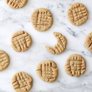 Baking for Bear: Gluten-free peanut butter cookies