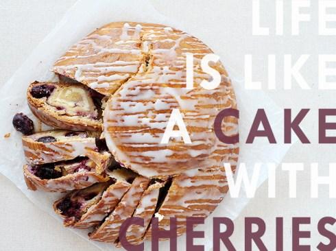 Sour Cherry Cream Cheese Coffee Cake7