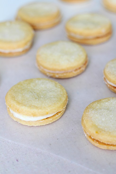 Lemon Sandwich Cookies 2