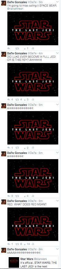 the last jedi twitter reaction
