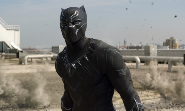 New International Poster For Marvel's BLACK PANTER