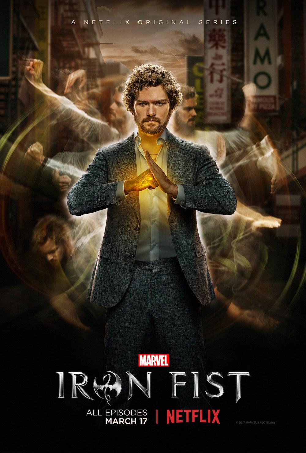 Marvel's Iron Fist featurette poster