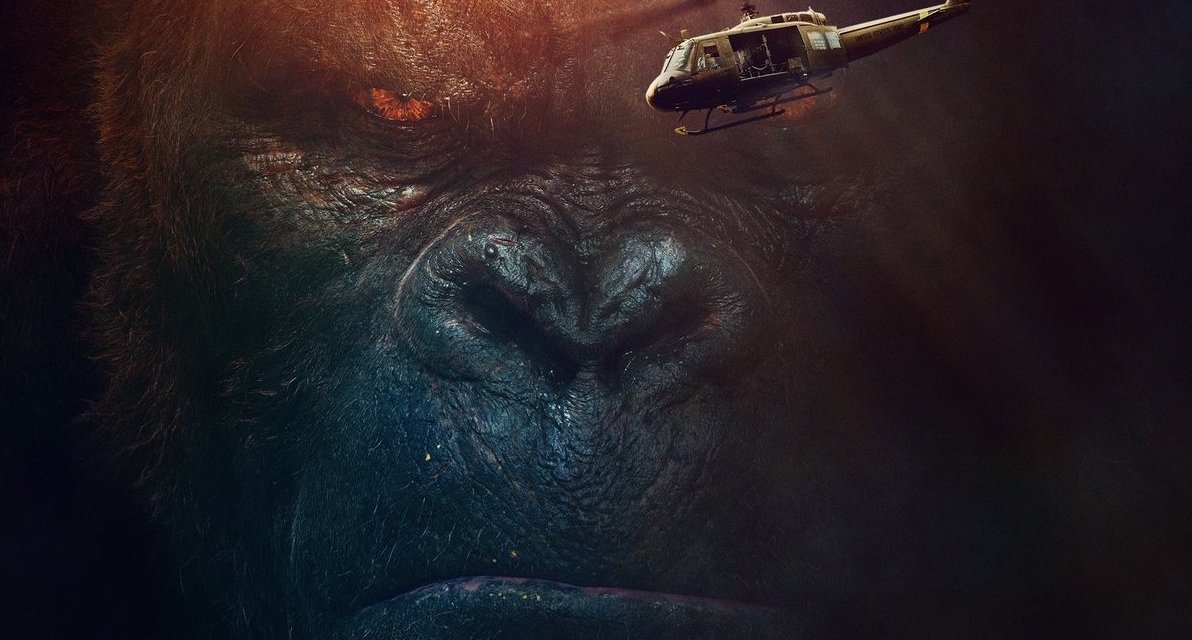 Cool APOCALYPSE NOW-Looking IMAX Poster For KONG: SKULL ISLAND Revealed
