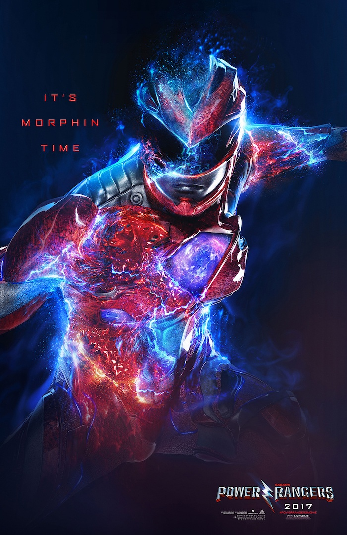 Character Poster Power Rangers 3
