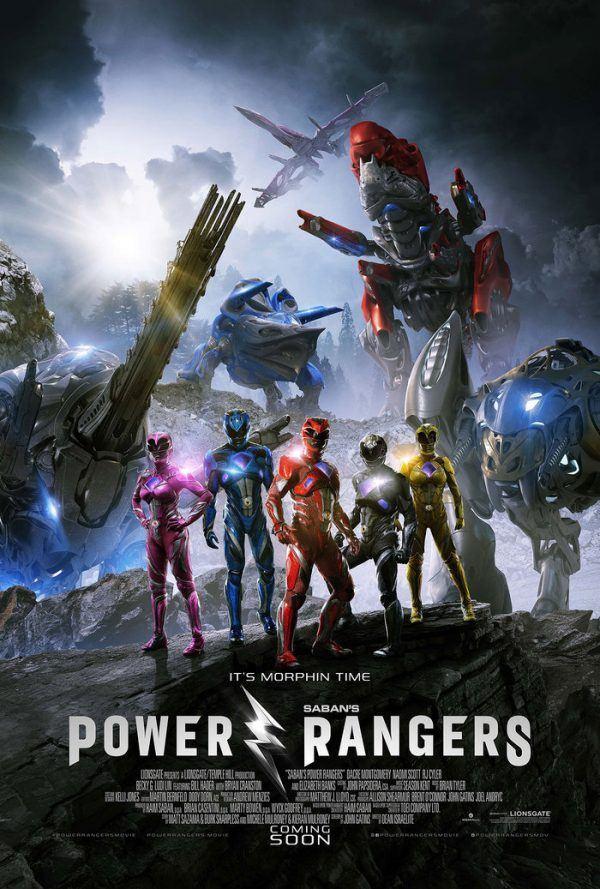 Power Rangers Intl poster