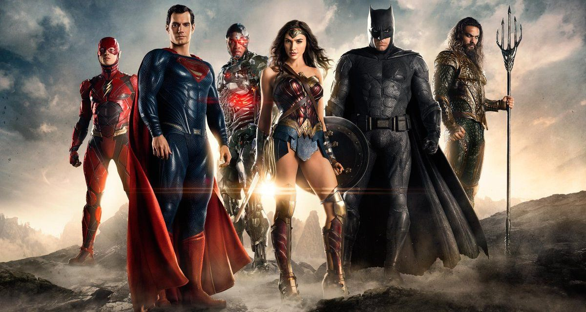 Check Out the Cool JUSTICE LEAGUE Day of the Dead Poster!