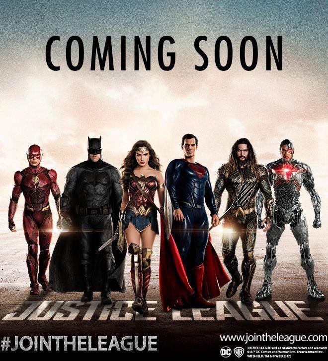 justice league promotional image