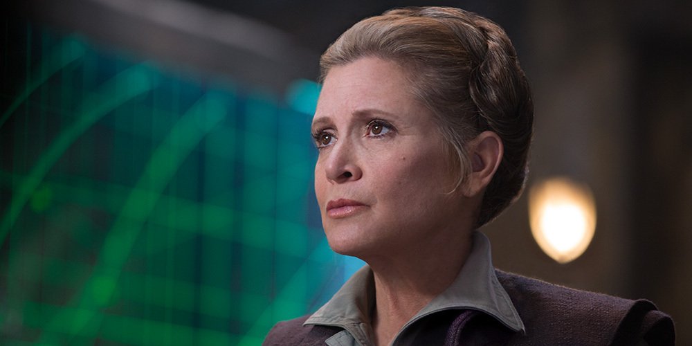 Carrie Fisher Will Not Appear in STAR WARS: EPISODE IX