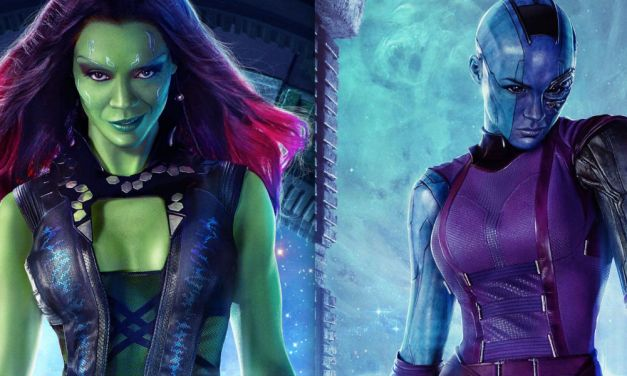 New GUARDIANS OF THE GALAXY TV Spot Features Gamora and Nebula Sibling Rivalry