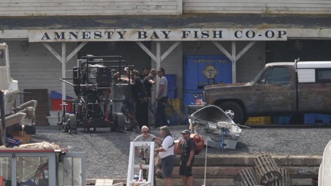 Aquaman BTS Set Photo 3