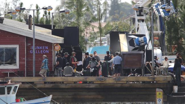 Aquaman BTS Set Photo 4