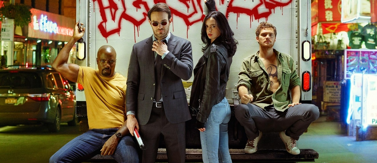 New Marvel's THE DEFENDERS Motion Posters