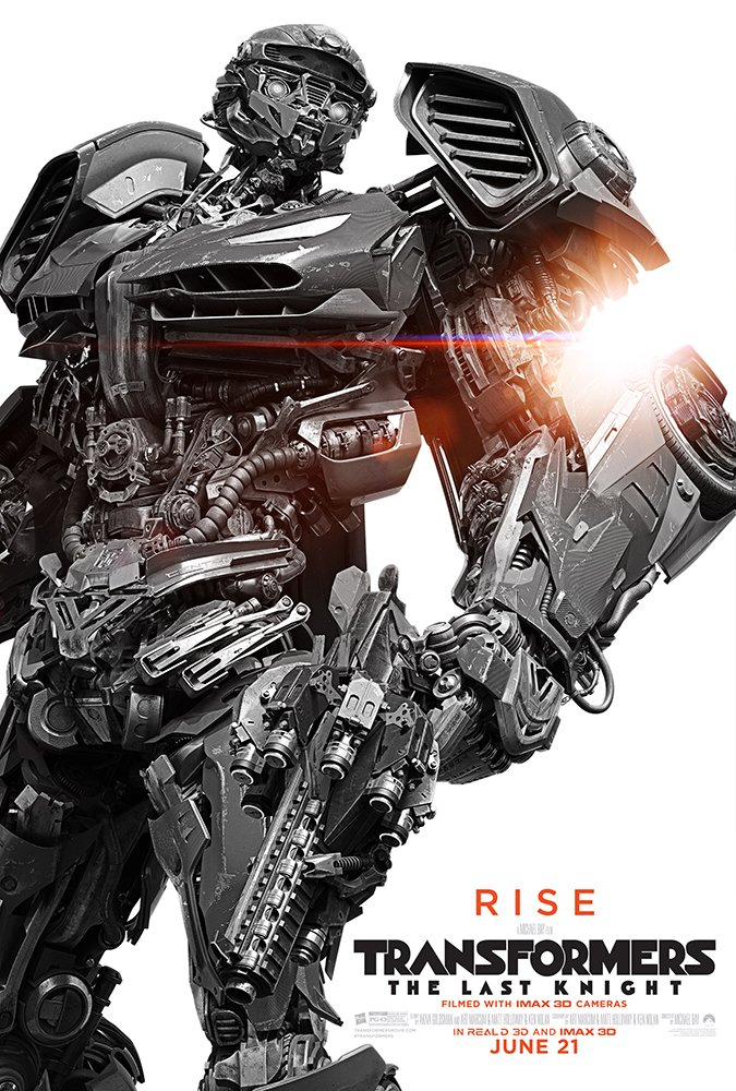 batch of character posters for transformers the last knight