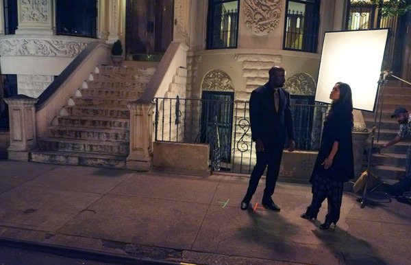 luke cage set photo