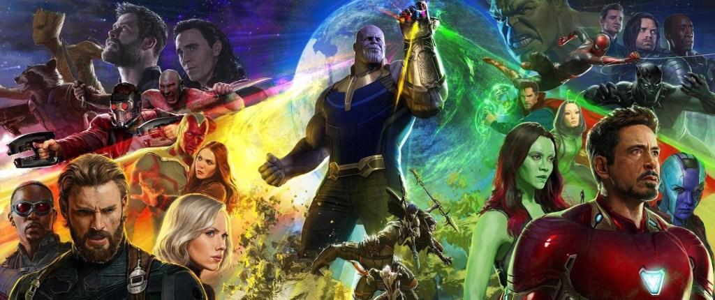 Infinity war Comic con poster