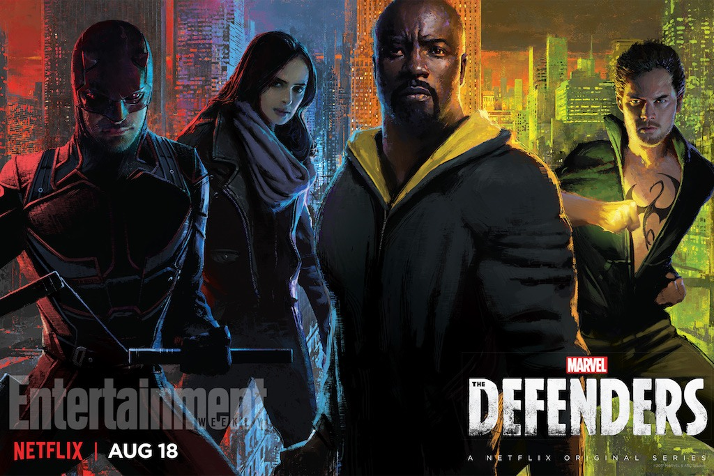 The Defenders SDCC Poster